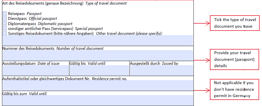 How To Fill German Student Visa Application Form Way2germany